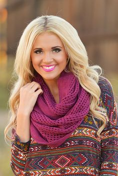 Paris Nights Infinity Scarves from Closet Candy Boutique