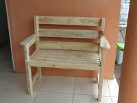 PROJETO HOBBY: Banco de madeira