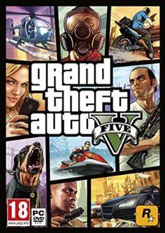 Grand Theft Auto V by Rockstar PS4 Playstation 4 Playstation Games