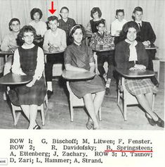 Bruce Springsteen in High School