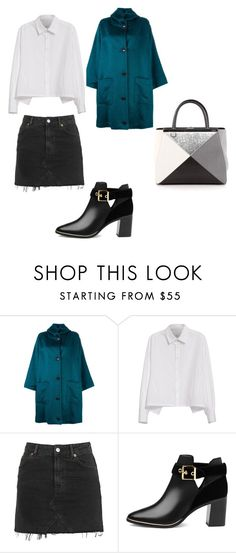 """Love style"" by phamthuquynh on Polyvore featuring Dušan, Y's by Yohji Yamamoto, Topshop, Ted Baker and Fendi"