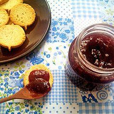 Geléia de frutas vermelhas (sem açúcar)