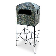 Primal Tree Stands 7' Homestead Quad Pod Stand with Enclosure Hunting Blind   http://huntinggearsuperstore.com/product/primal-tree-stands-7-homestead-quad-pod-stand-with-enclosure-hunting-blind/