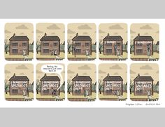 Stephen Collins, Newspaper Cartoons, Lol, Mansions, House Styles, Building, Funny, Image, Illustrations