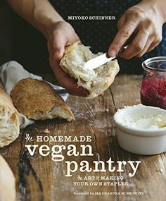 The Homemade Vegan Pantry: The Art of Making Your Own Staples by Miyoko Schinner http://www.amazon.com/dp/B00NRQXT70/ref=cm_sw_r_pi_dp_A4VBvb0BW8NX8