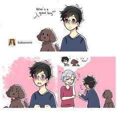 Yuri is basically another puppy to Viktor  | Yuri!! On Ice
