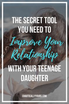 Parenting teenagers is TOUGH! Check out the secret weapon that I use to make sure I stay close to my teenage daughter! Raising Teenagers, Parenting Teenagers, Parenting For Dummies, Parenting Advice, Funny Parenting, Parenting Classes, Parenting Styles, Teenage Daughters, Kids Behavior
