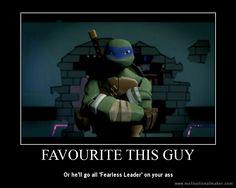 TMNT Poster - Fearless Leader by Theanimekitty89 on deviantART