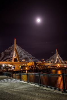 Leonard P. Zakim Bunker Hill Bridge | Flickr - Photo Sharing!