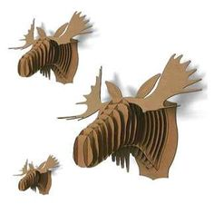 Pinterest the world s catalog of ideas - Cardboard moosehead ...