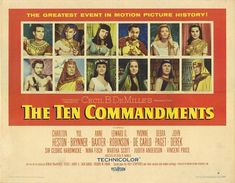 images of ten commandments movie | This Movie!: Sh!#ting on the Classics: The Ten Commandments