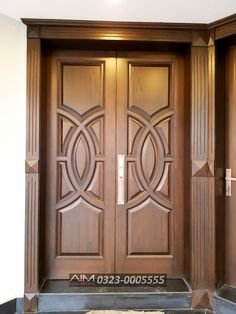 Custom French Country Solid Wood Double Doors In 2019 Wood