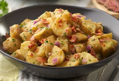 To Explore? To Create? To Wow? Share your reason and learn more at http://swanson.campbellskitchen.com/recipe/german-potato-salad/