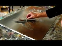 Abstract acrylic painting - Démonstration peinture abstraite (5) - Althea - YouTube