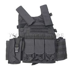 Army Police Training Military Tactical Vest Wargame Body Armor Sports Wear Molle Assault Airsoft Paintball Carrier Strike Vest
