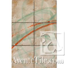 David Shipley Conversations #4 Hand Painted Ceramic Tile
