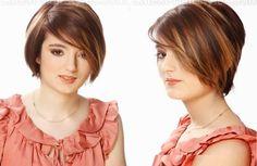 Corte e cor modernos  #shorthair #cabeloscurtos #hairstyle #hair #cabelos #mulheres #cortesdecabelocurto #shorthaircut
