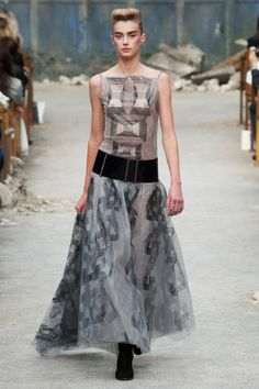 Chanel Couture: Karl's 'Stocking Shoes,' and Other Shiny Solutions to Our Dirty World - The Cut