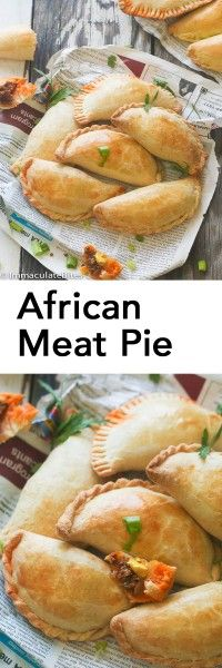 african-meat-pie South African Recipes, Ethnic Recipes, La Tourtiere, Pie Recipes, Cooking Recipes, Curry Recipes, Nigerian Food, Caribbean Recipes, Beef Dishes
