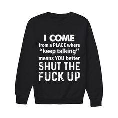 Funny T Shirt Sayings, Sarcastic Shirts, T Shirts With Sayings, Funny Shirts, Awesome Shirts, Cute Tshirts, Cool Shirts, Sibling Shirts, Funny Fashion