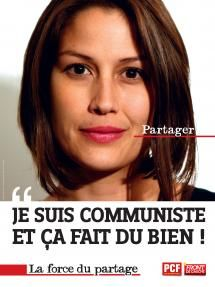 Affiches renforcement - Je suis communiste | PCF.fr Uni, Posters, French, Party, Event Posters, French People, Postres, French Language, Banners