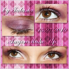 Eye Make Up - Datum: 15.07.10  http://talasia.blogspot.de/2010/08/amu-magic-purple.html