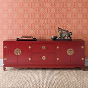 Imperial Console, Red | Gump's