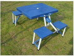Folding Picnic Table Folding Picnic Table, Plastic Tables, Drafting Desk, Camping, Home Decor, Campsite, Decoration Home, Room Decor, Home Interior Design
