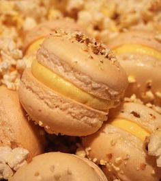 Salted Butter Popcorn Macaron Recipe & A Tale of Macaron Carnage