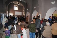 Tras el acto inaugural, todas las personas que se encontraban en el museo pudieron ver la nueva sede. UnicoEnElMundo