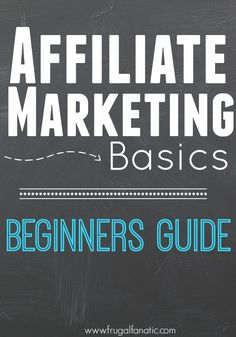 Are you trying to make money online? Affiliate Marketing is a great option to earn an income if you already have a website. Learn how you can get started and ways to be successful with affiliate marketing.