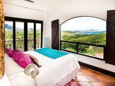 Tropical Chic Penthouse Condo with Ocean Views & 5 min walk to Flamingo Beach - Playa Flamingo Upstairs Loft, Flamingo Beach, Green Mountain, Pent House, Wonderful Places, Ideal Home, Bean Bag Chair, Condo, Costa Rica
