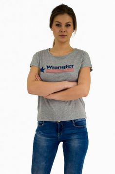 T-shirty damskie Wrangler. Wrangler women's t-shirts. T Shirty, Texas, T Shirts For Women, Club, Womens Fashion, Texas Travel, Women's Clothes, Woman Fashion, Fashion Women