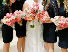 Wedding Bouquets Inspiration : Gorgeous wedding bouquets from Blooming Floral Studio: www. Wedding Pics, Wedding Trends, Wedding Bells, Dream Wedding, Wedding Day, Wedding Stuff, Bridesmaid Bouquet, Wedding Bouquets, Bridesmaid Dresses