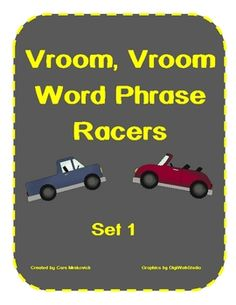 Word Phrase Fluency Game- This activity allows students to practice working on fluency and sight word recognition. Includes 60 word phrase cards and special game cards. Clip...