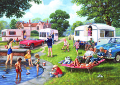 Caravan Holiday's Puzzle #jigsaw #puzzle #xmas #christmas #gifts #grandparents…