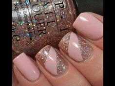 atemberaubende Glitzernagel Designs, Glitter nail art designs have become a constant favorite. Almost every girl loves glitter on their nails. Glitter nail designs can give that extra edg. Hot Nails, Nude Nails, Pink Nails, Opi Pink, Pink Sparkly Nails, Zebra Nails, Purple Nail, Acrylic Nails, Pink Nail Art