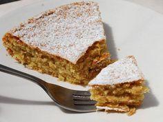 Receita de Bolo de amêndoa e avelã #amendoa #avela #semgluten #glutenfree #bolo