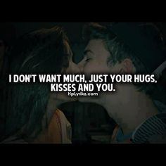i dont want much. Just your hugs , kisses and you.  - selena ( @selena_bro )  #swagnotes #hplyrikz #lovequotes #love #quotestoremember #quotesforgirls #quotesforboys #quotesforteens #quotesforcouples #true #followme #like #comment - @teensbeteens- #webstagram