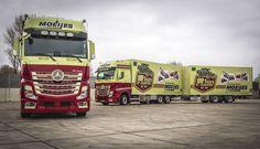 Mooie klant mooie trucks #Actros