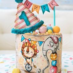 😻😻😻 Credit: 🍫 Would you guys eat this 😻🍫 🍰 Daily posts of Cakes 🍰 🍭 For promotions/ad Pretty Cakes, Cute Cakes, Beautiful Cakes, Amazing Cakes, Circus Theme Cakes, Themed Cakes, Sweets Cake, Cupcake Cakes, Cars Cake Design