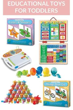 5 Educational Toys f