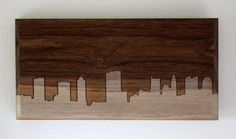 Columbus Skyline - Cool idea for a DIY project with a dremel