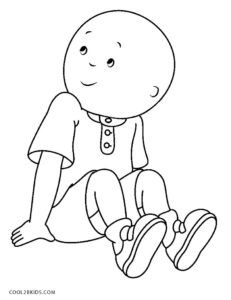 Free Printable Caillou Coloring Pages For Kids Cool2bkids Cartoon Coloring Pages Coloring Pages Coloring Pages For Kids