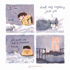 Watercolour-Artist-Cat-Comics Cat Comics, Watercolor Cat, How To Make Comics, Painting Process, Health Advice, Bored Panda, Comic Strips, Mental Health, Artsy