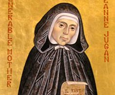 """Image of St. Jeanne Jugan Feastday: August 30  Birth: 1792 Jeanne Jugan was born on October 25, 1792 in a small fishing village of Brittany, France.  Her last words were, """"O Mary, my dear Mother, come to me. You know I love you and how I long to see You!"""""""