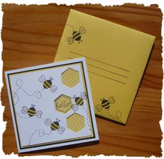 Bees with envelop