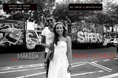 MAKEDA CONGO / SEPTEMBRE 2013  Nous serons au Congo Brazzaville en Septembre 2013 pour la suite du projet photographique Makeda / Mixed Couples. Nous recherchons toujours des personnes vivant à Brazzaville et Pointe Noire pour participer à ces portraits d'histoires amoureuses. N'hésitez pas à nous contacter pour plus d'infos : photo@aurorevinot.com