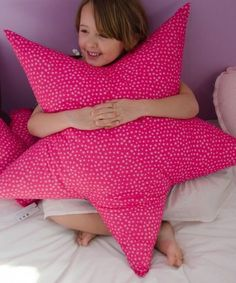 Funny Pillows, Cute Pillows, Diy Pillows, Decorative Pillows, Cushions, Pillow Ideas, Sewing For Kids, Diy For Kids, Sewing Crafts