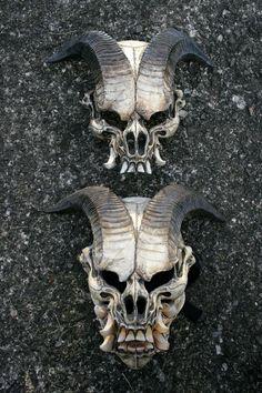 Jersey Devil masks by mostlymade.deviantart.com on @DeviantArt